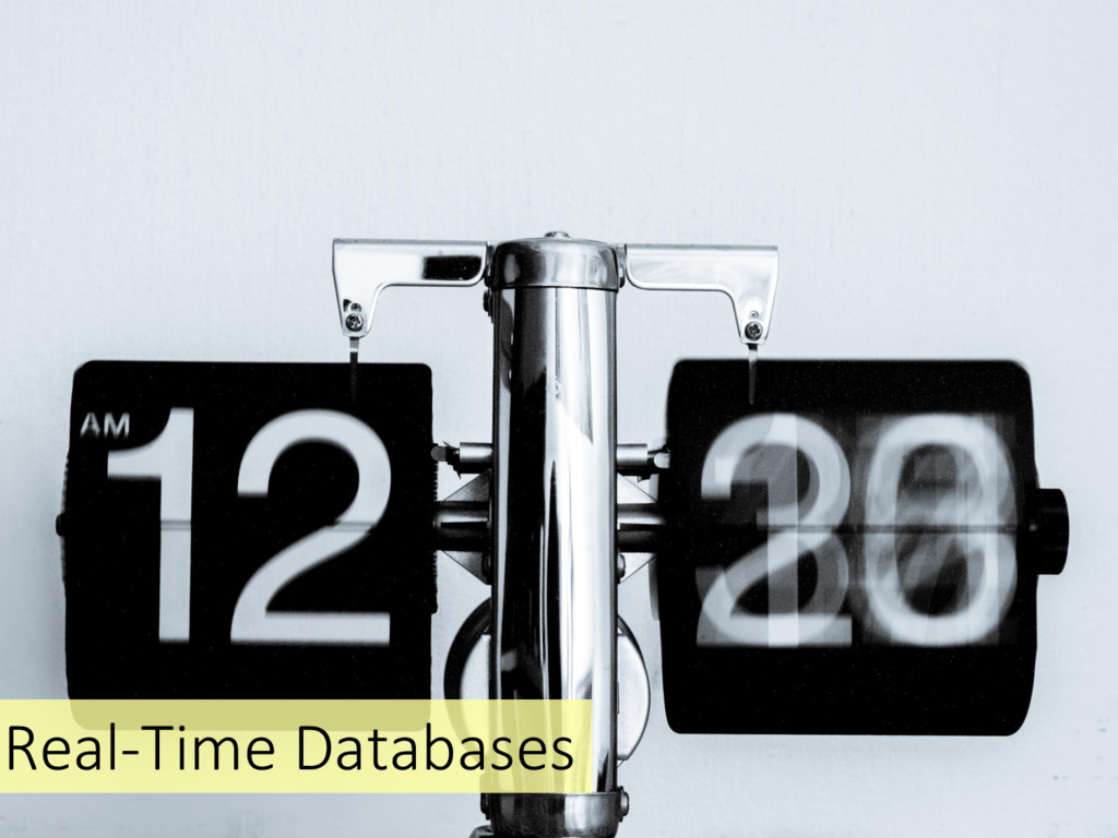 Real-Time Databases