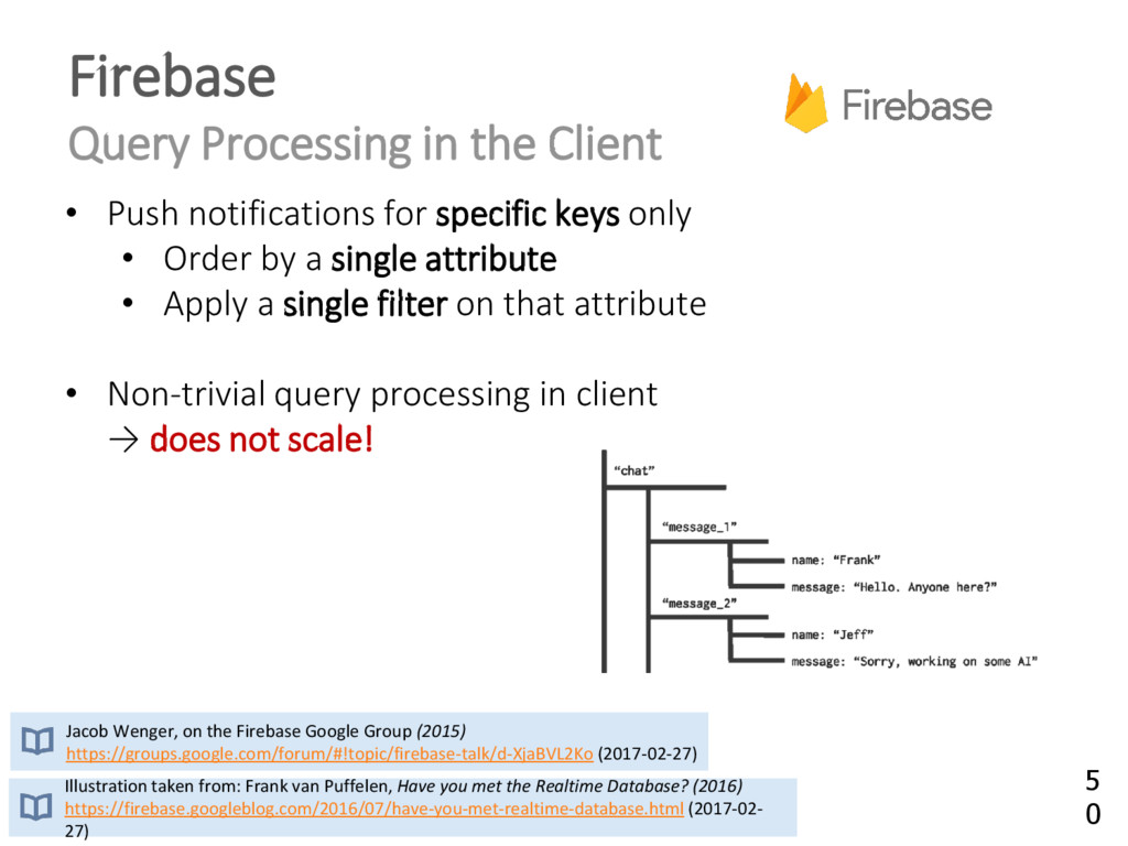 Firebase Query Processing in the Client Illustr...