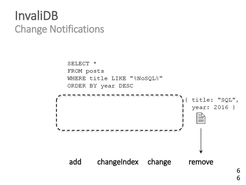 InvaliDB Change Notifications add changeIndex c...