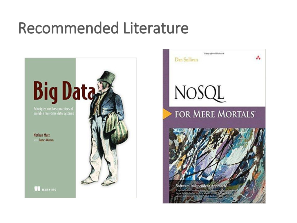 Recommended Literature