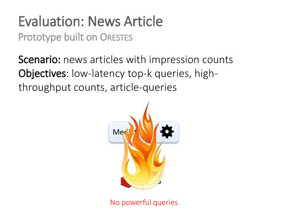 Evaluation: News Article Prototype built on ORE...