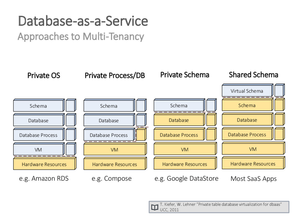 Database-as-a-Service Approaches to Multi-Tenan...
