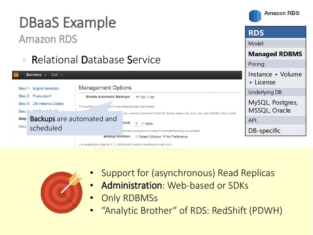  Relational Database Service DBaaS Example Ama...