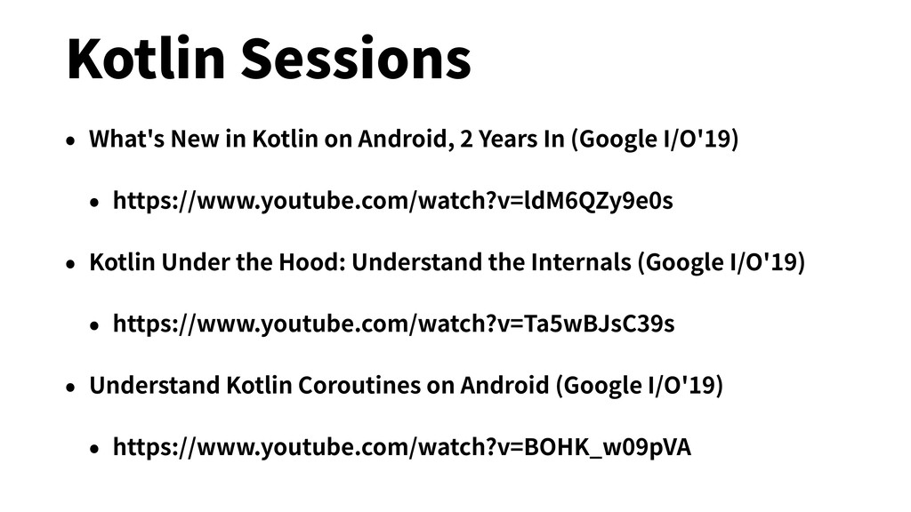 Kotlin Sessions • What's New in Kotlin on Andro...