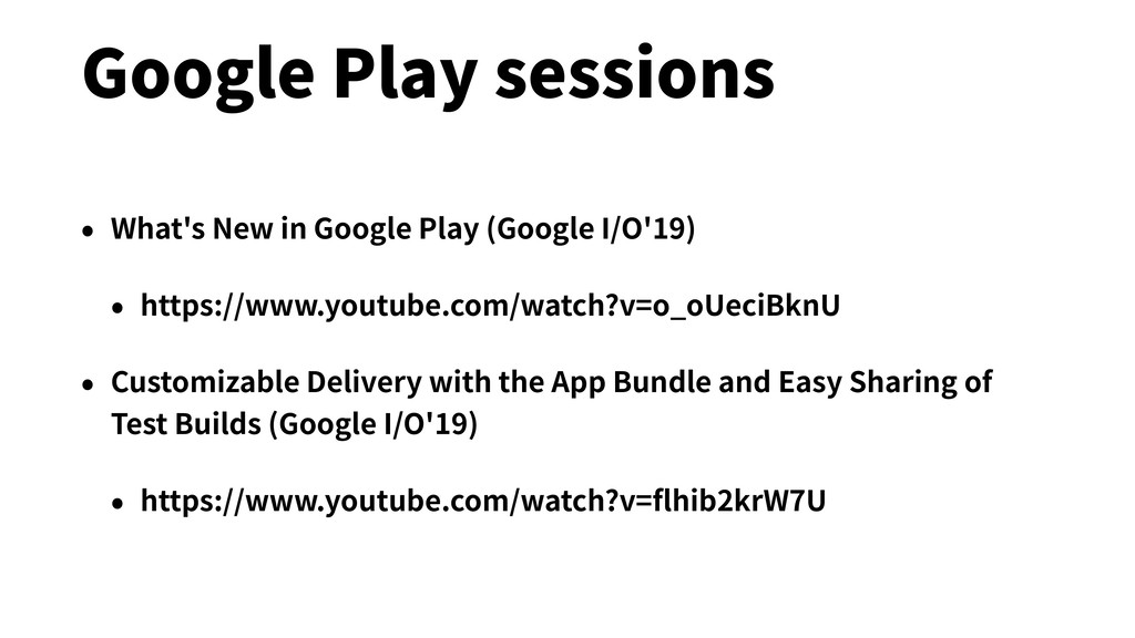 • What's New in Google Play (Google I/O'19) • h...