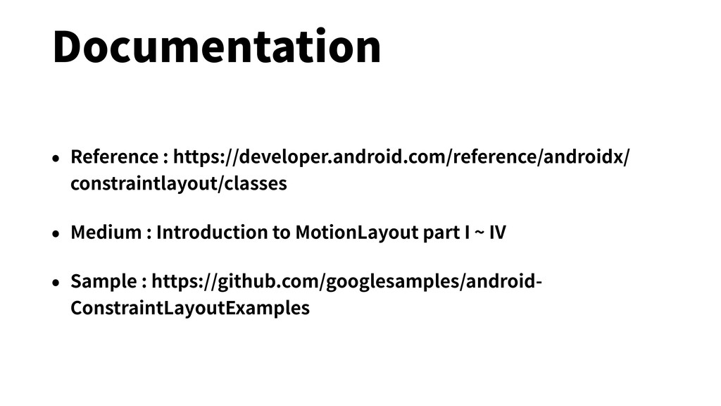 Documentation • Reference : https://developer.a...