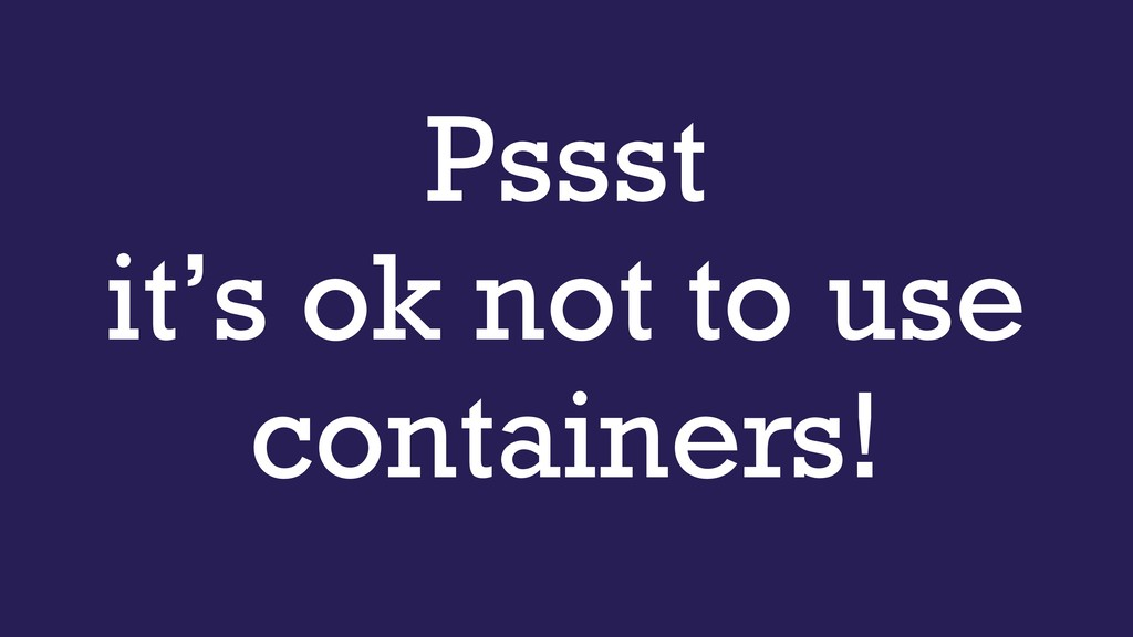Pssst