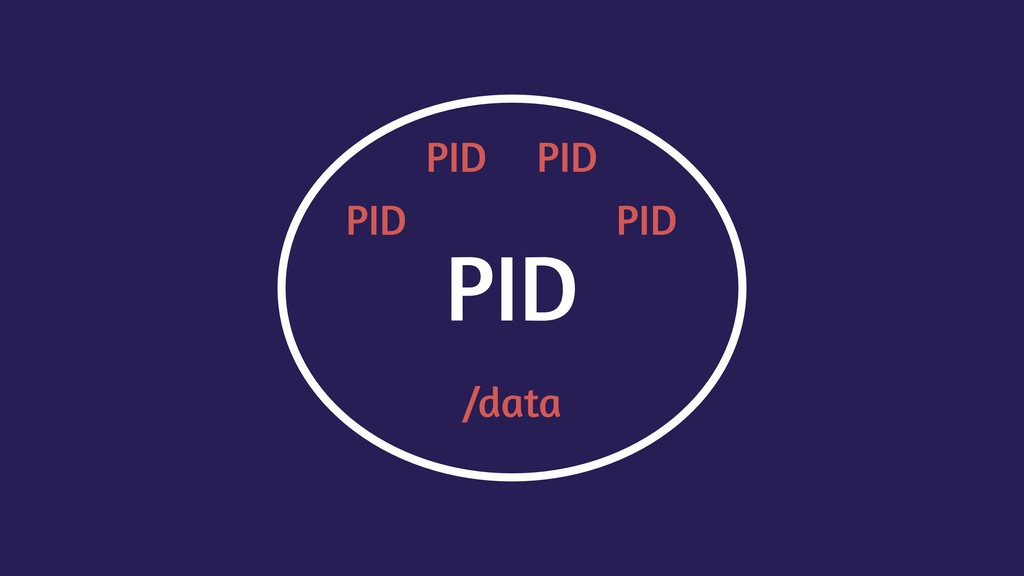 PID PID PID PID PID /data