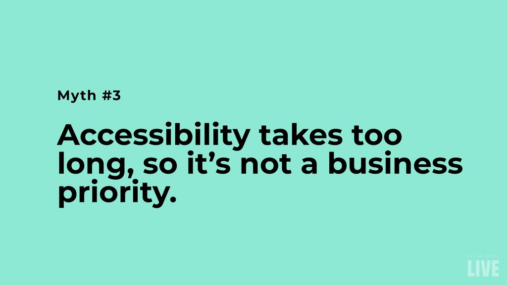 Accessibility takes too long, so it's not a bus...