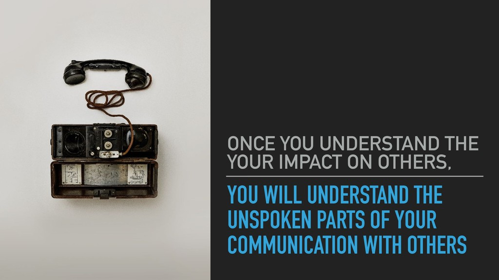 YOU WILL UNDERSTAND THE UNSPOKEN PARTS OF YOUR ...