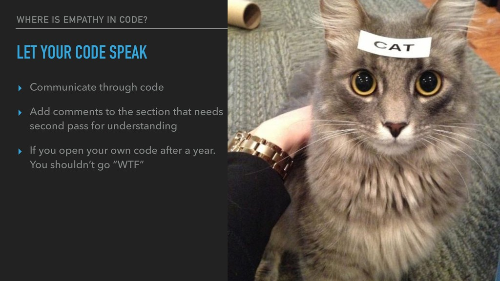 WHERE IS EMPATHY IN CODE? LET YOUR CODE SPEAK ▸...