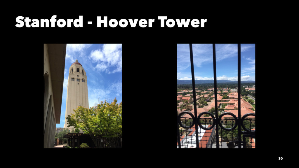 Stanford - Hoover Tower 30