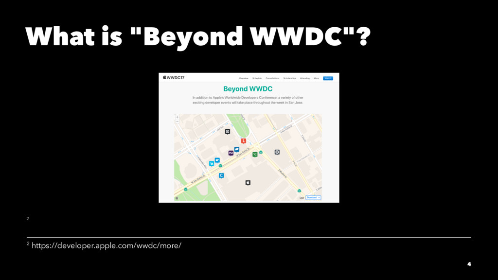 "What is ""Beyond WWDC""? 2 2 https://developer.ap..."