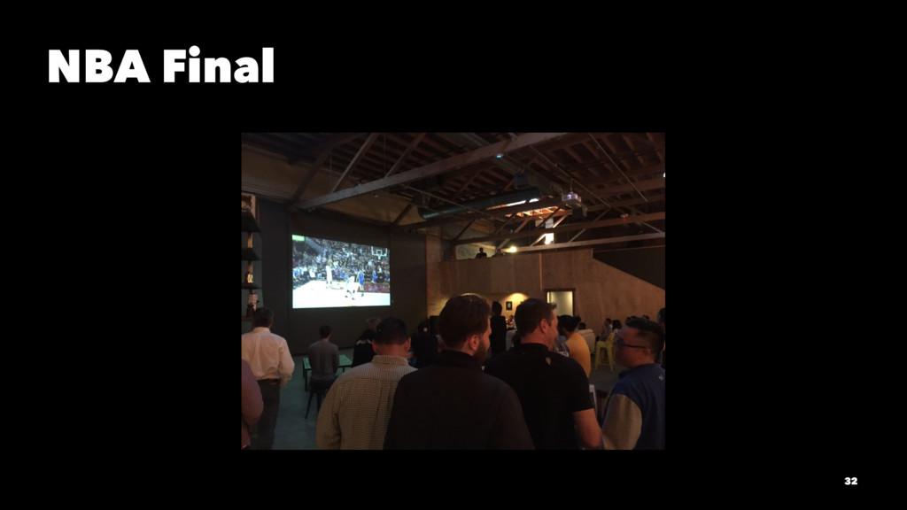 NBA Final 32