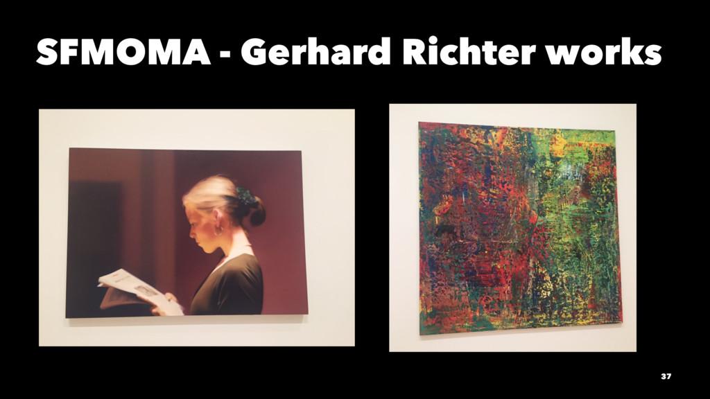 SFMOMA - Gerhard Richter works 37