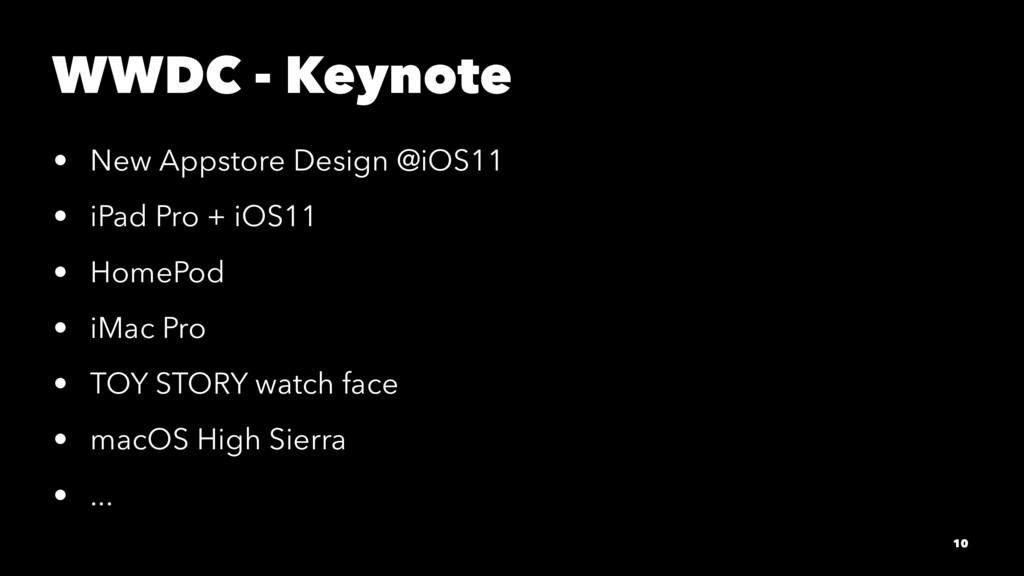 WWDC - Keynote • New Appstore Design @iOS11 • i...