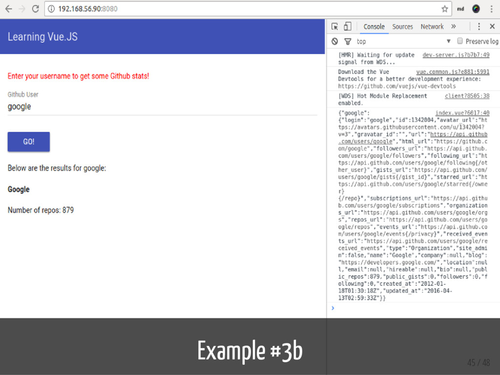 Example #3b 45 / 48