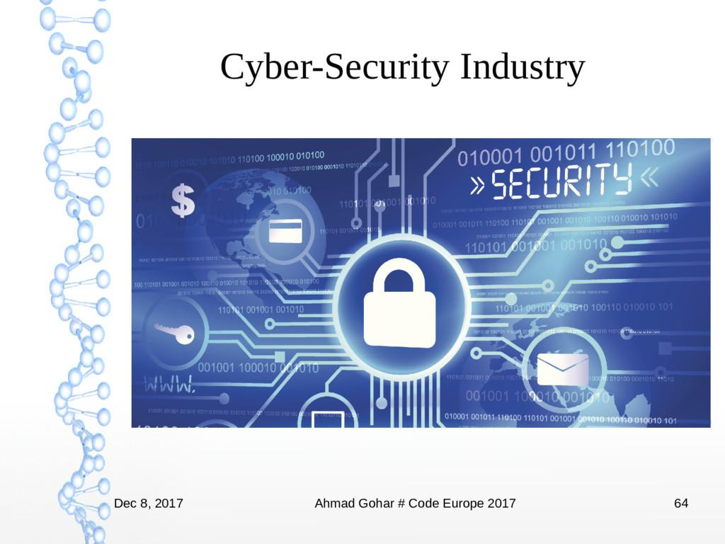 Dec 8, 2017 Ahmad Gohar # Code Europe 2017 64 C...