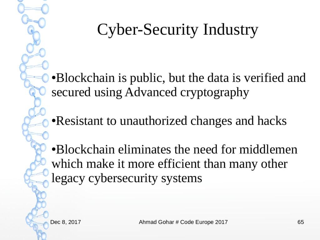 Dec 8, 2017 Ahmad Gohar # Code Europe 2017 65 C...
