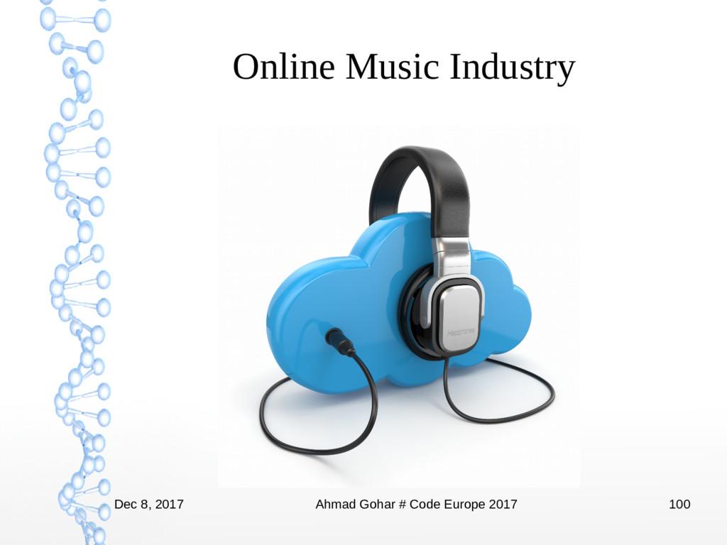 Dec 8, 2017 Ahmad Gohar # Code Europe 2017 100 ...