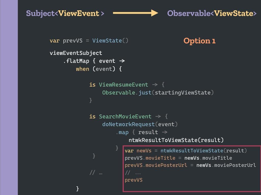 var prevVS = ViewState() var newVs = ntwkResult...