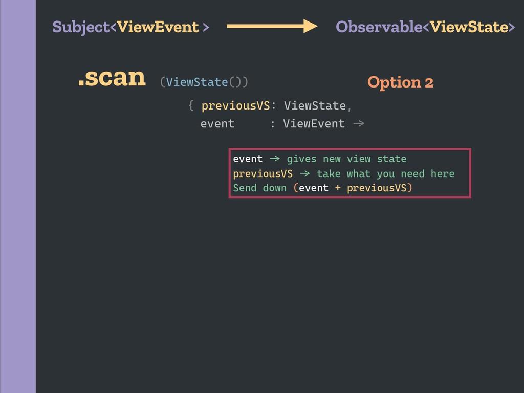{ previousVS2 ViewState, (ViewState()) event : ...