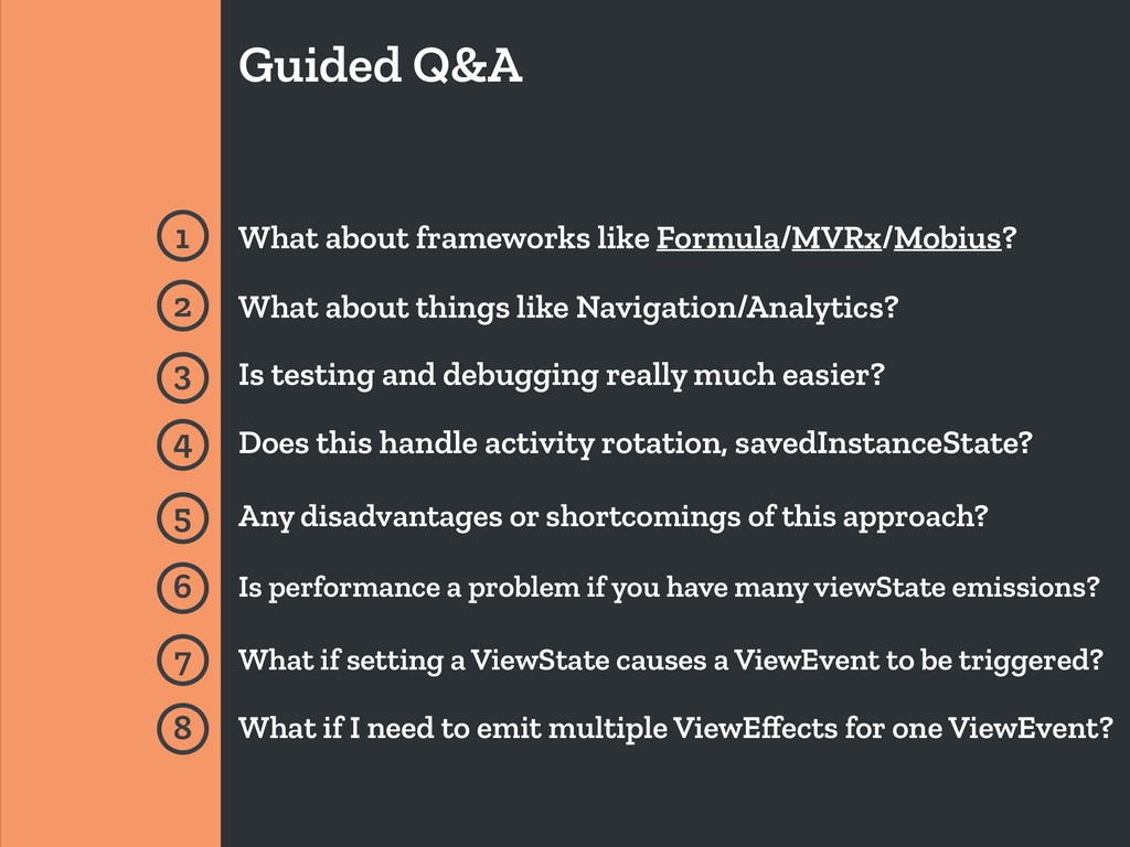 Guided Q&A 1 What about frameworks like Formula...