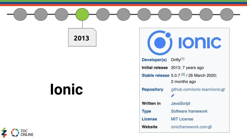 2013 Ionic