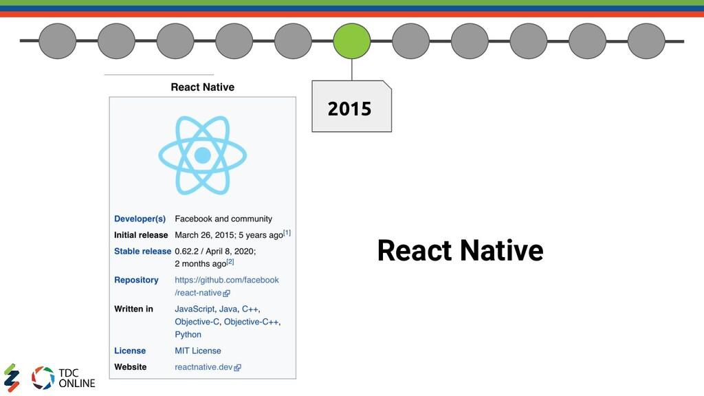 2015 React Native