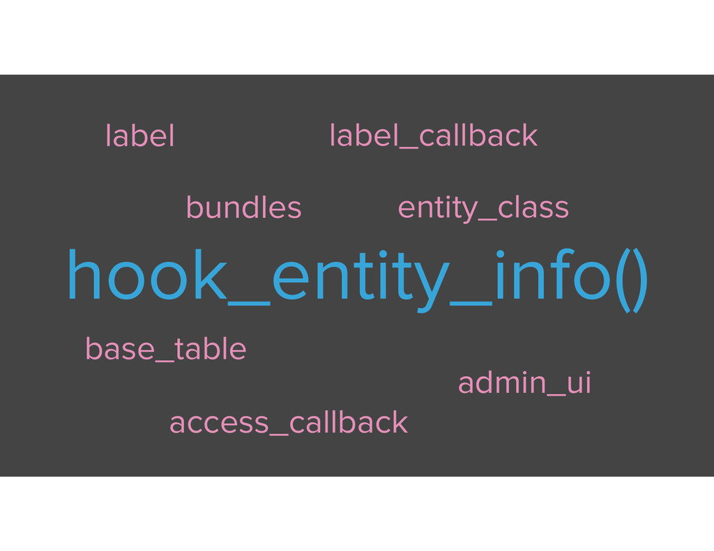 hook_entity_info() label access_callback admin_...