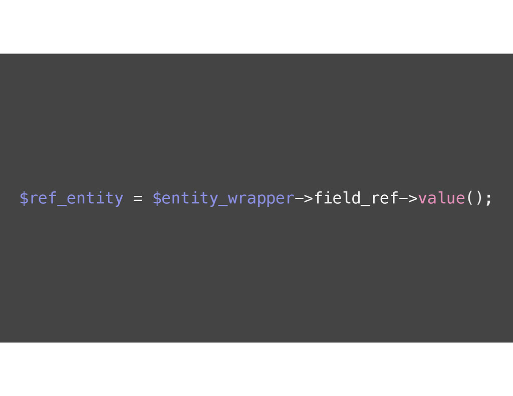 $ref_entity = $entity_wrapper->field_ref->value...