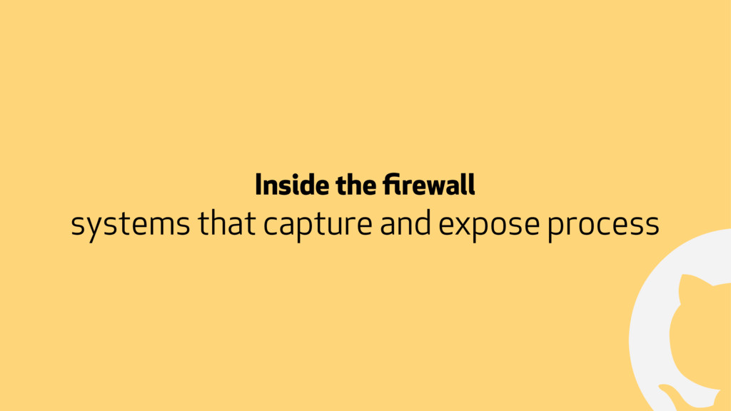 ! Inside the firewall systems that capture and e...