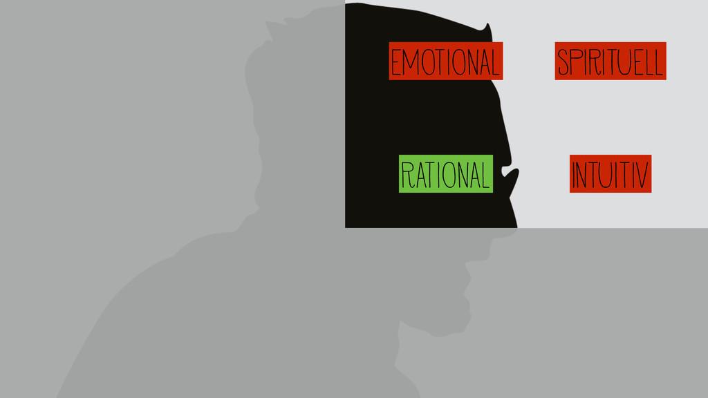 Emotional Spirituell Rational Intuitiv