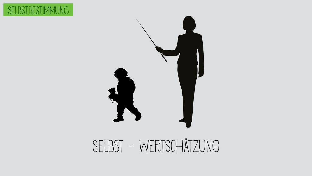 SELBST - wertschätzung Selbstbestimmung