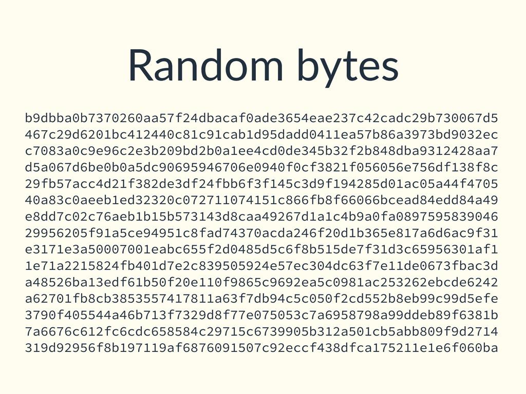 Random bytes b9dbba0b7370260aa57f24dbacaf0ade36...