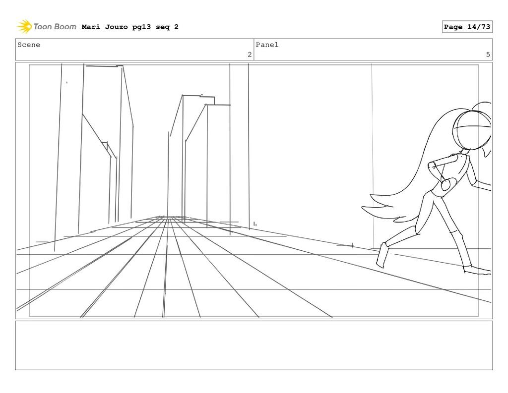 Scene 2 Panel 5 Mari Jouzo pg13 seq 2 Page 14/73