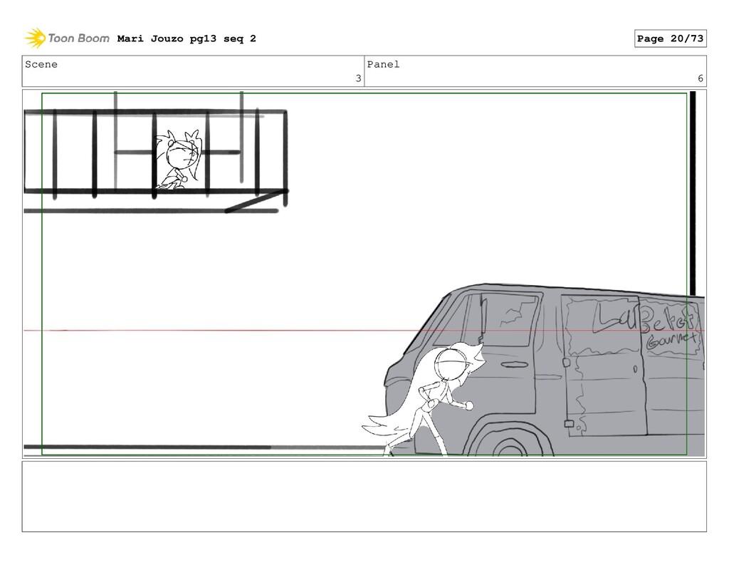 Scene 3 Panel 6 Mari Jouzo pg13 seq 2 Page 20/73