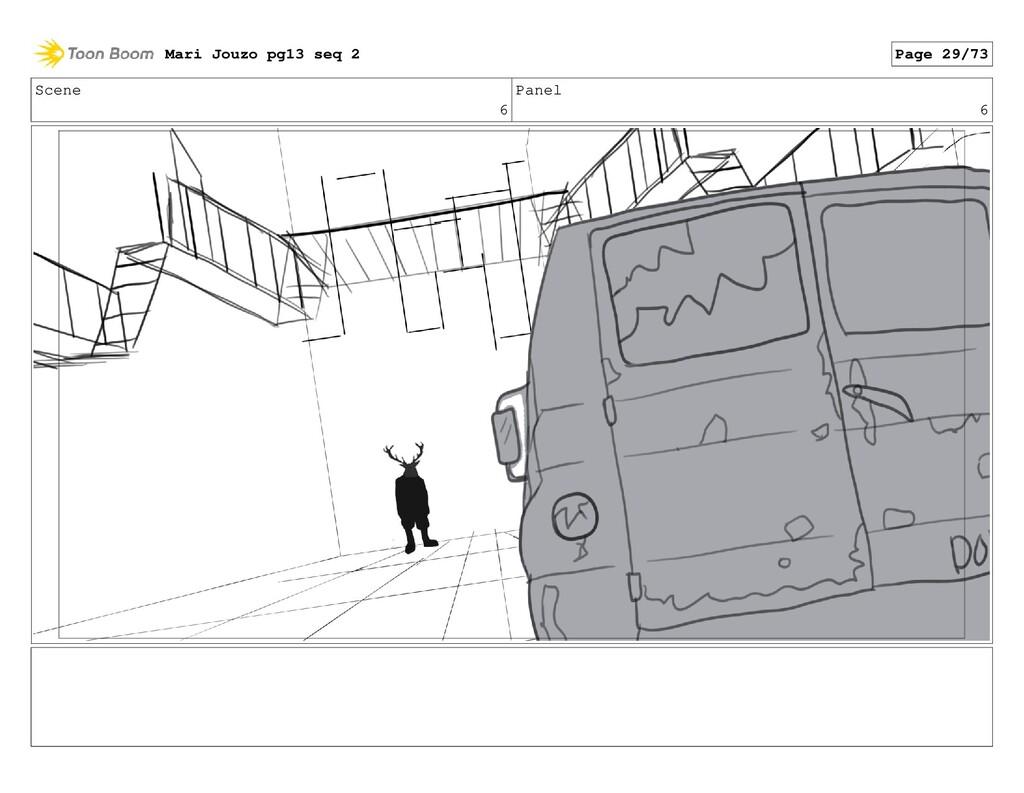 Scene 6 Panel 6 Mari Jouzo pg13 seq 2 Page 29/73