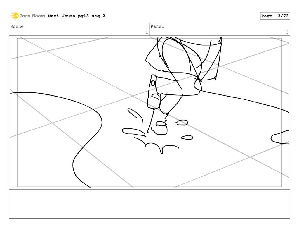 Scene 1 Panel 3 Mari Jouzo pg13 seq 2 Page 3/73