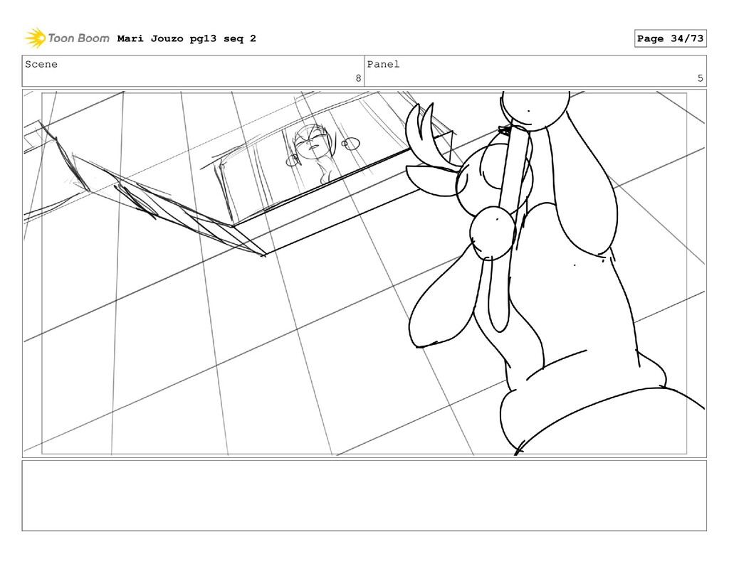 Scene 8 Panel 5 Mari Jouzo pg13 seq 2 Page 34/73