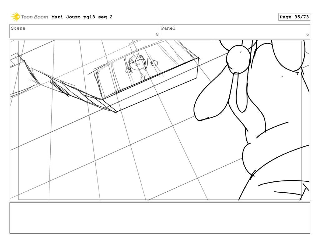 Scene 8 Panel 6 Mari Jouzo pg13 seq 2 Page 35/73