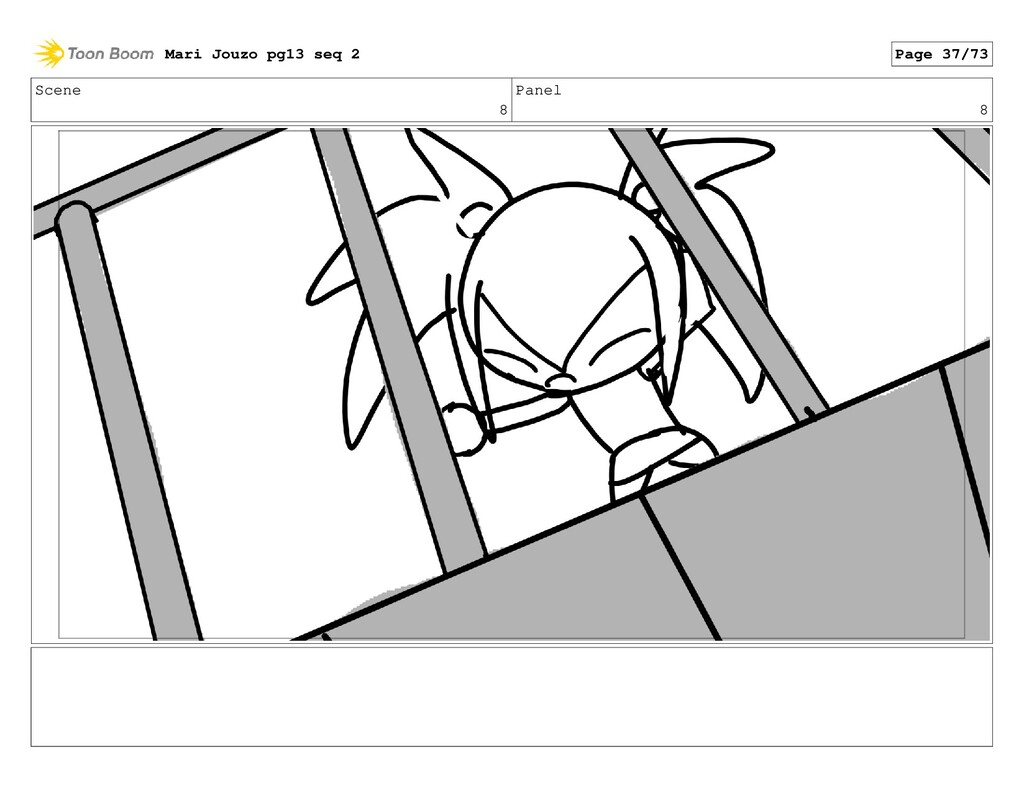 Scene 8 Panel 8 Mari Jouzo pg13 seq 2 Page 37/73