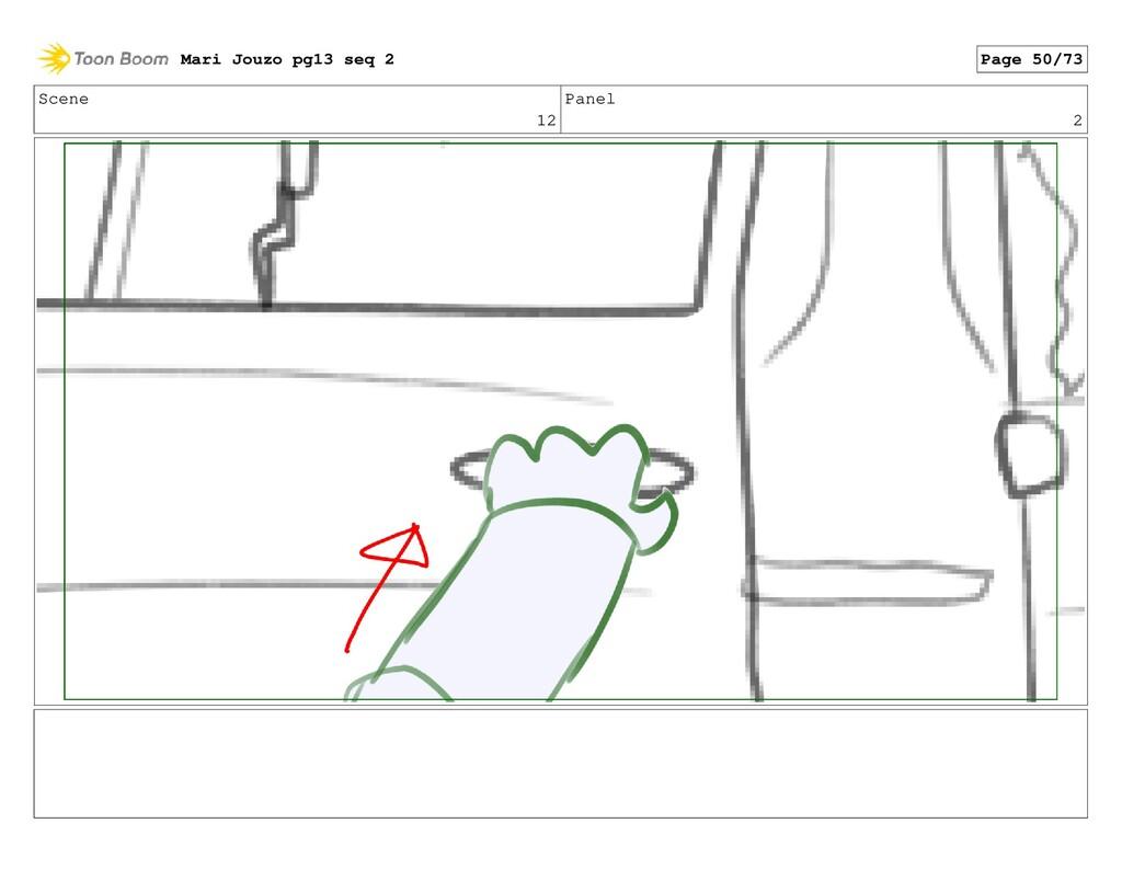 Scene 12 Panel 2 Mari Jouzo pg13 seq 2 Page 50/...