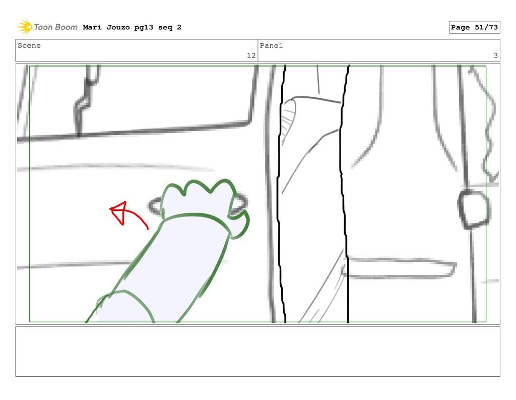 Scene 12 Panel 3 Mari Jouzo pg13 seq 2 Page 51/...
