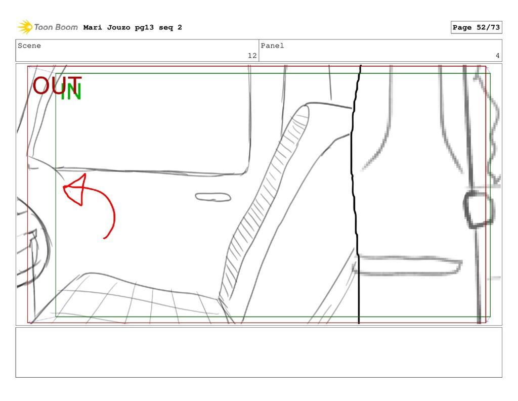 Scene 12 Panel 4 Mari Jouzo pg13 seq 2 Page 52/...