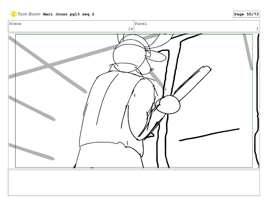 Scene 14 Panel 1 Mari Jouzo pg13 seq 2 Page 55/...
