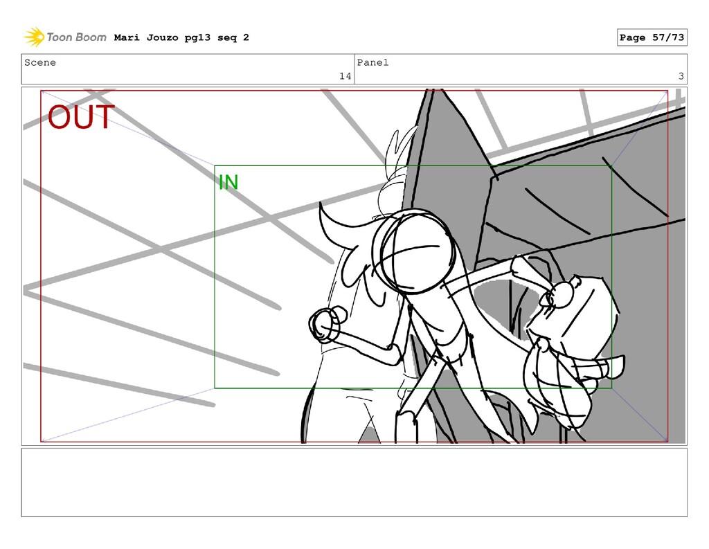 Scene 14 Panel 3 Mari Jouzo pg13 seq 2 Page 57/...