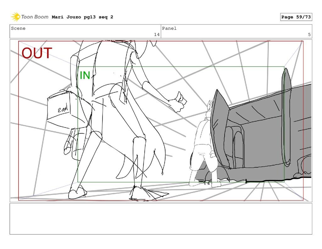 Scene 14 Panel 5 Mari Jouzo pg13 seq 2 Page 59/...