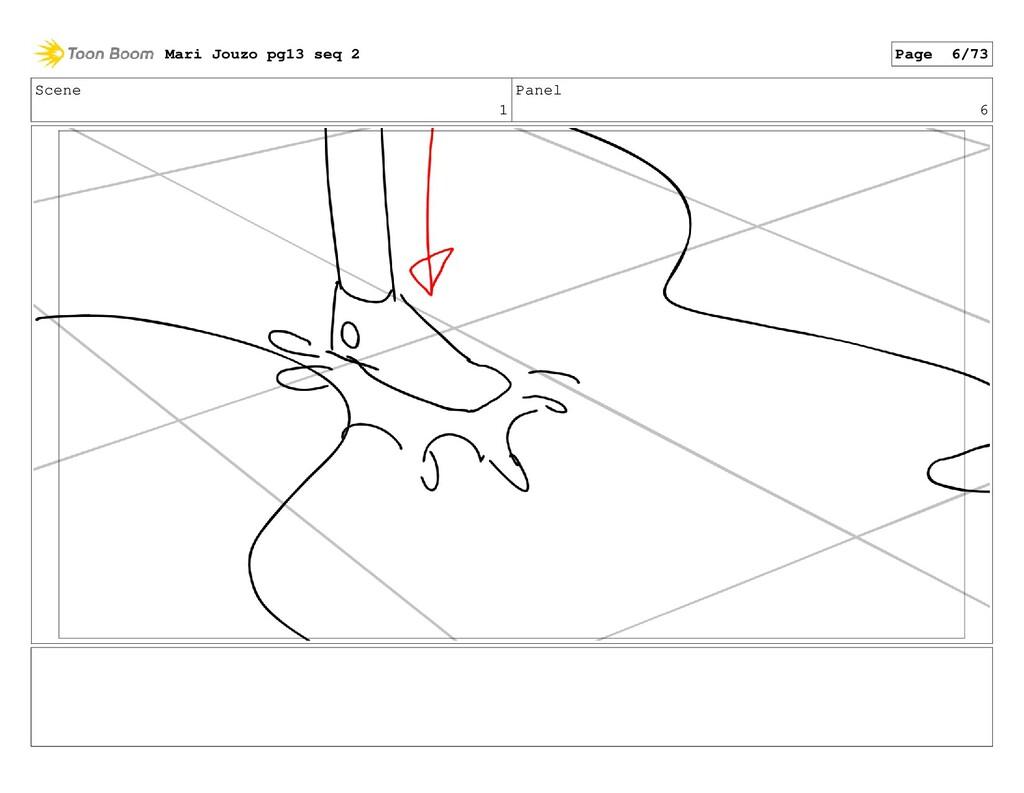 Scene 1 Panel 6 Mari Jouzo pg13 seq 2 Page 6/73