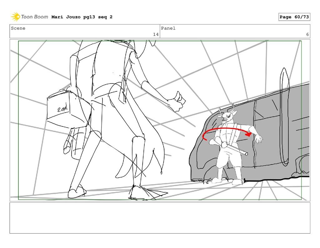 Scene 14 Panel 6 Mari Jouzo pg13 seq 2 Page 60/...